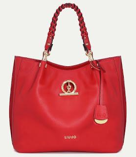 borsa liu jo sei unica pubblicita 2017 colore rosso