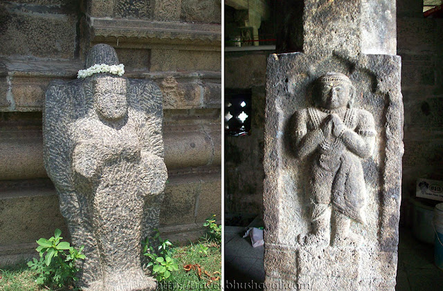 Ponmar Sathyapureeswarar Temple sculptures