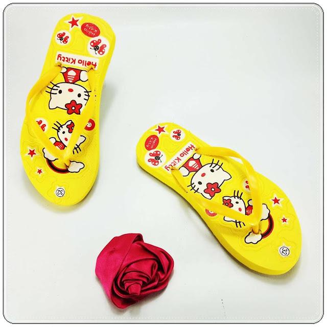 Sandal AB Sablon HK TG || Distributor sandal murah Indonesia