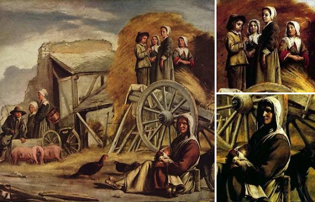 """A obra dos irmãos Le Nain """"Carroça camponesa"""" (1641)"""