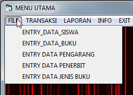 Source Coding Program Aplikasi Pengolahan Perpustakaan Lengkap Di VB6 V.1, download program perpustakaan vb6, source coding program perpustakaan sekolah, download source coding program vb6, program vb6 perpustakaan, download source code program perpustakaan, download perogram skripsi perpustakaan vb6