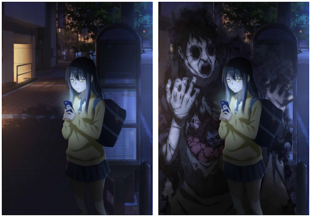 Manga Mieruko-chan