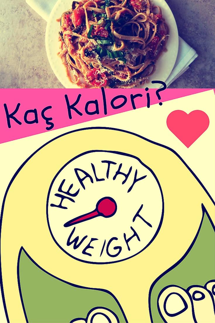 1 Kilo kaç kalori eder