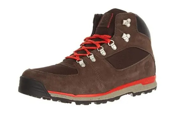 3- Timberland GT Scramble Mid Fabric_Leather Hiking Boots for Men