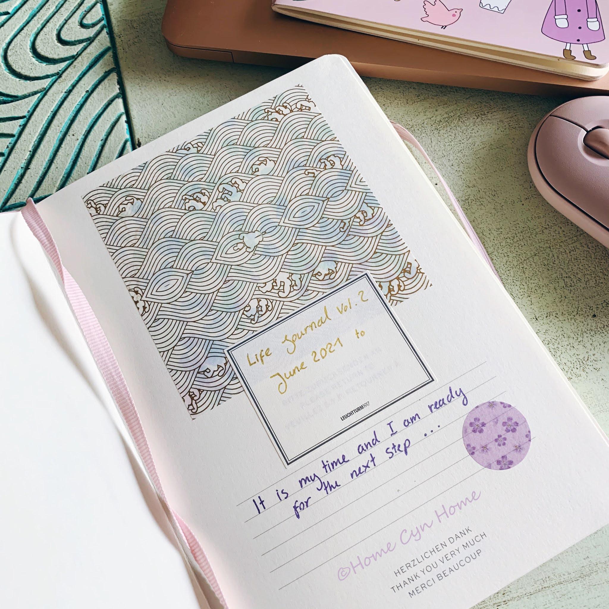 a peak inside my life journal