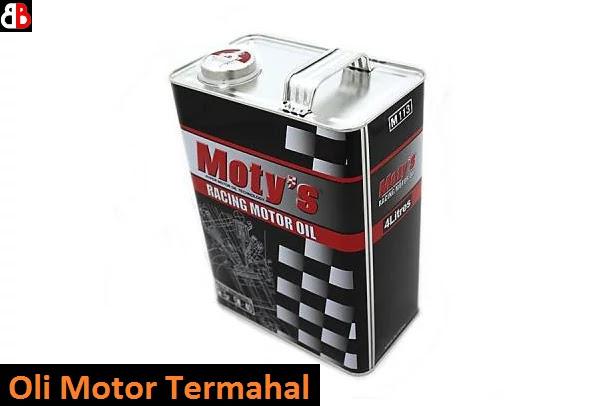 Beragam varian oli motor yang sudah beredar di pasaran Indonesia Merk Oli Motor Termahal di Indonesia ini Harganya Fantastis!