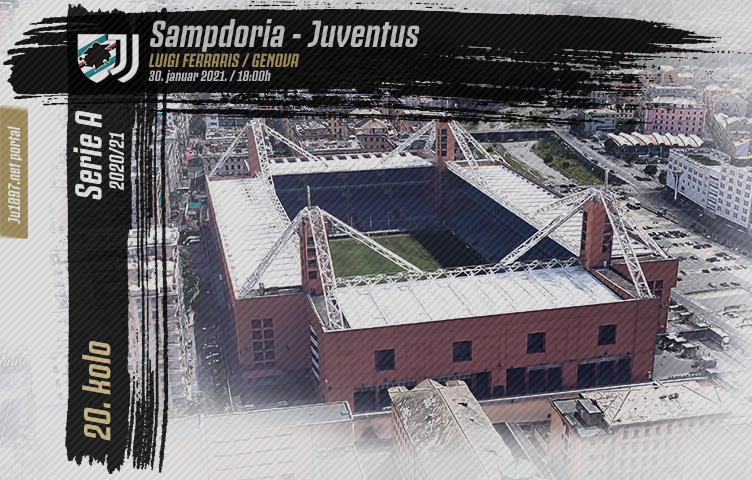 Serie A 2020/21 / 20. kolo / Sampdoria - Juventus, subota, 18h