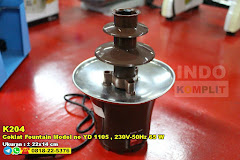 Coklat Fountain Model No YD 1105 , 230V-50Hz 65 W