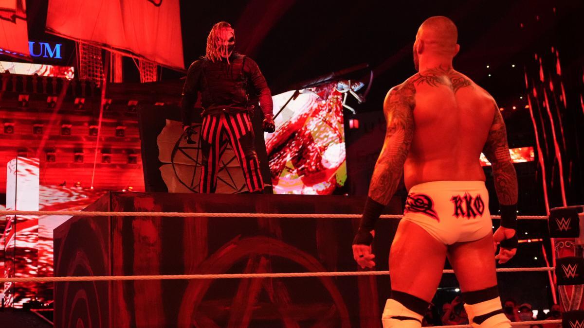 Bray Wyatt and Randy Orton at WWE WrestleMania 37