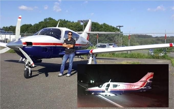 Piloto dominicano que aterrizó en autopista de Rhode Island con una hermana relata maniobras para evadir la muerte