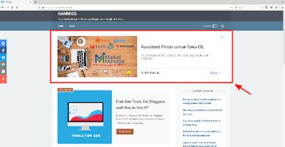 Cara memasang Iklan Adsense Besar Di Bawah Navbar Template LinkMagz