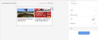 Cara Memasang Matched Content Adsense pada Blog