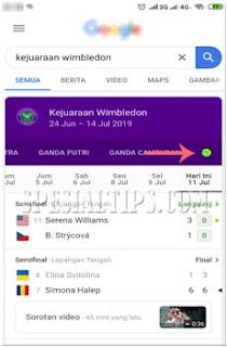 Cara Memainkan Game Tenis Google Di Smartphone Android