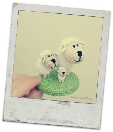 Mini Oveja Amigurumi [Patrón Gratuito]   Los Enredos de Lyanne