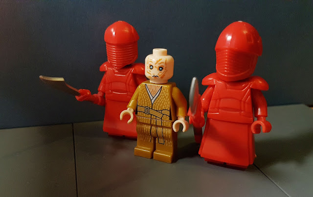 Snoke and Elite Praetorian Guard, First Order, Star Wars, force awakens, last jedi