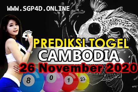 Prediksi Togel Cambodia 26 November 2020