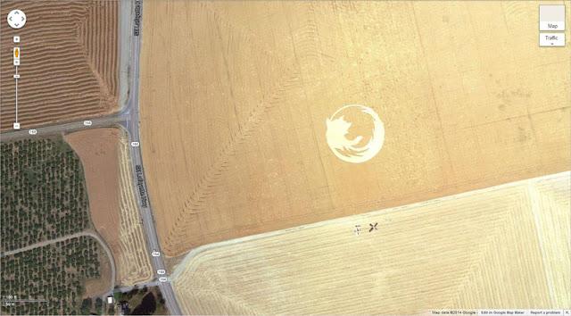 Coisas estranhas flagradas pelo Google Earth (Parte II)
