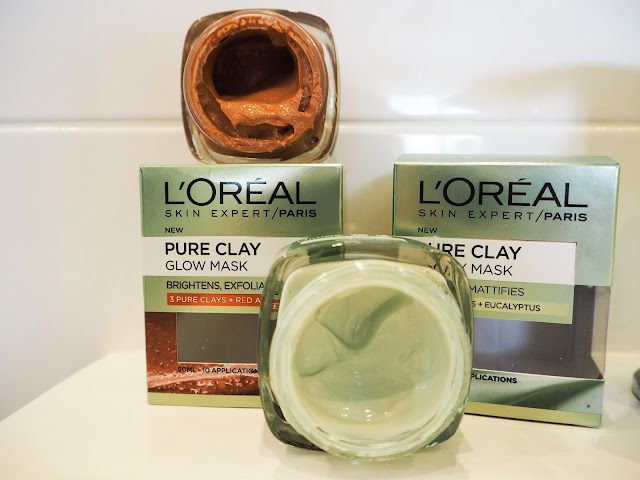 L'Oreal Pure Clay Face Purify and Glow Mask Review