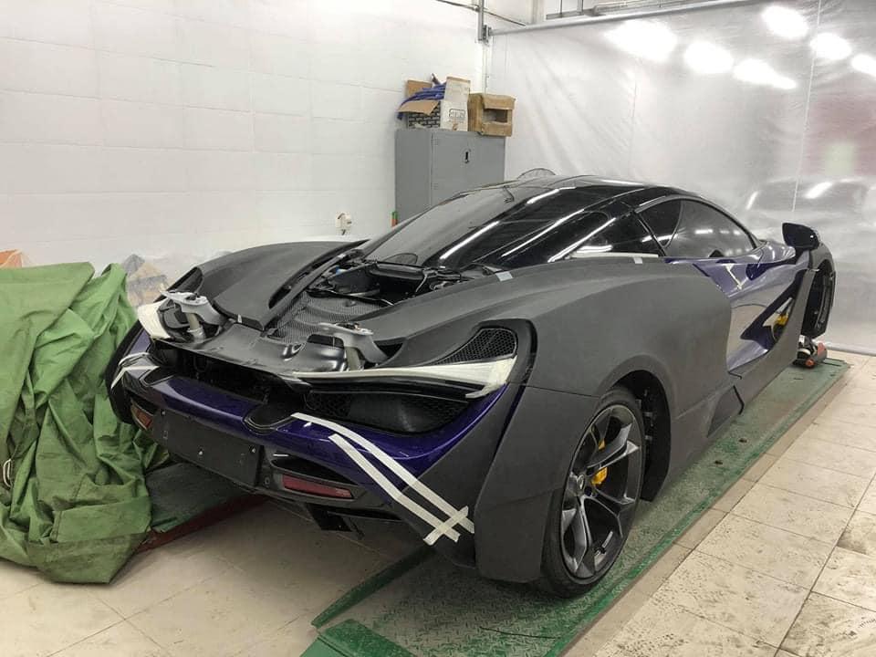 McLaren 720S Novitec N Largo siêu độc của đại gia Vũng Tàu lộ diện rõ nét hơn