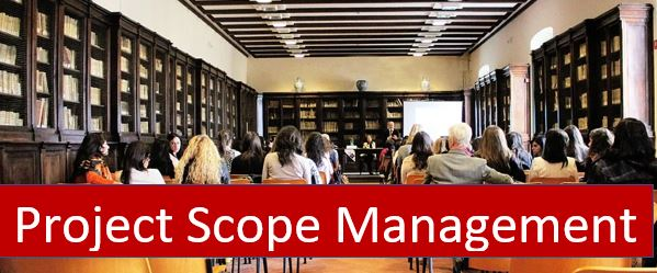 What is project scope management based on PMP Certification?