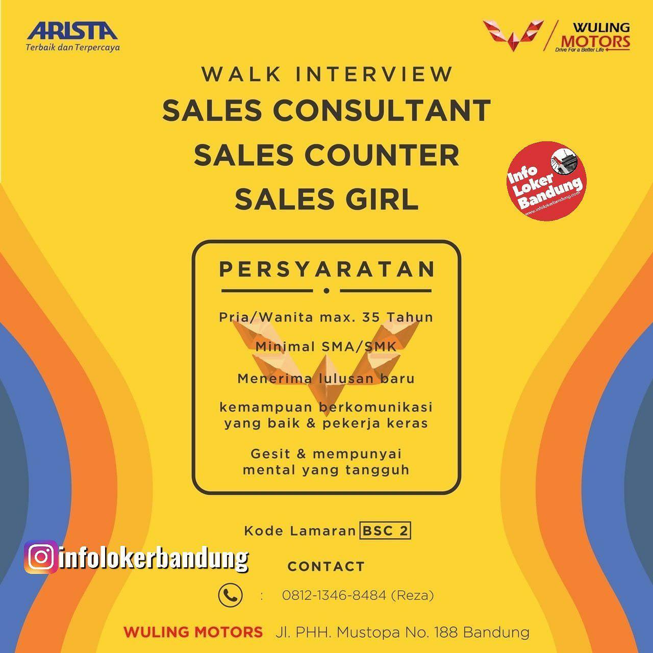 Lowongan Kerja Wuling Motors Bandung Walk In Interview September 2019 Info Loker Bandung 2021