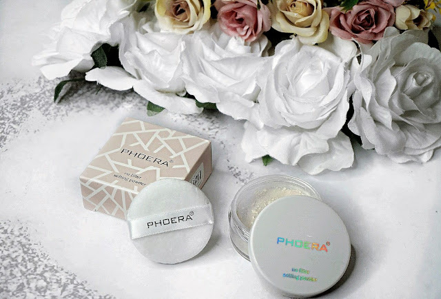 PHOERA Oil-Control Matte Loose Powder review