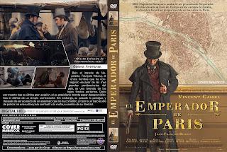 CARATULAEL EMPERADOR DE PARIS - L'EMPEREUR DE PARIS - 2018