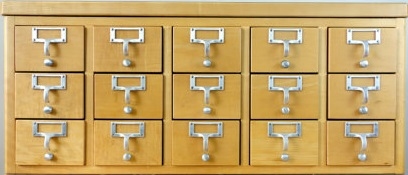 Check Our Card Catalog
