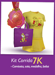 Kit coureur (femmes) 7 km Disney Princess Magical Run Sao Paulo 2017