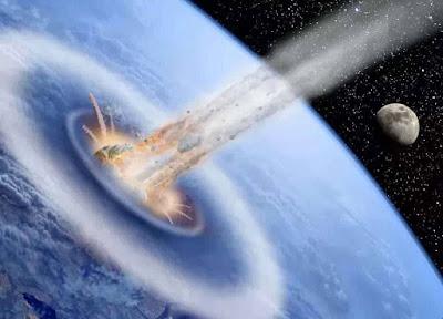 asteroide-atingindo-a-Terra