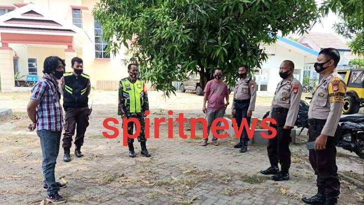 Kapolsek Marbo Antisipasi Demo Anarkis Di Kantor Camat Marbo