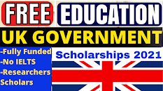 Scholarships in UK 2021-2022