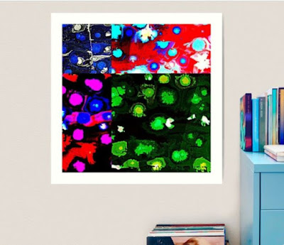 Multi Color Painting by Miabo Enyadike