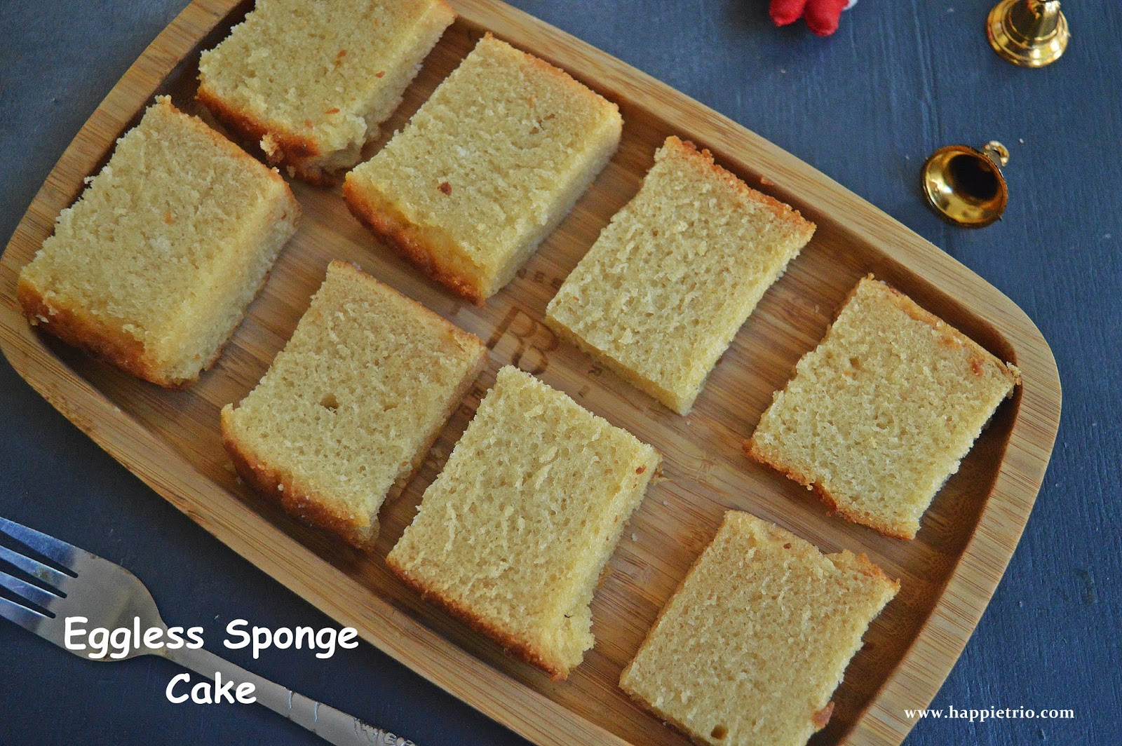 Eggless Vanilla Sponge Cake Recipe | Basic Sponge Cake Eggless Version