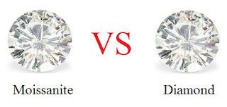 berlian dan Moissante memiliki kemampuan masing masing