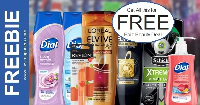 CVS Epic Beauty Event Freebie 9/19-9/25