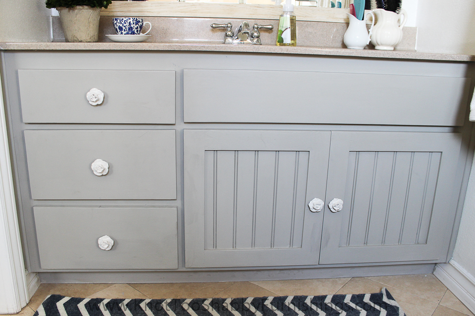 How To Redo Kitchen Cupboard In Chalk Paint