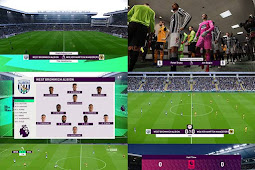 NEW English Premier League Scoreboard - PES 2021