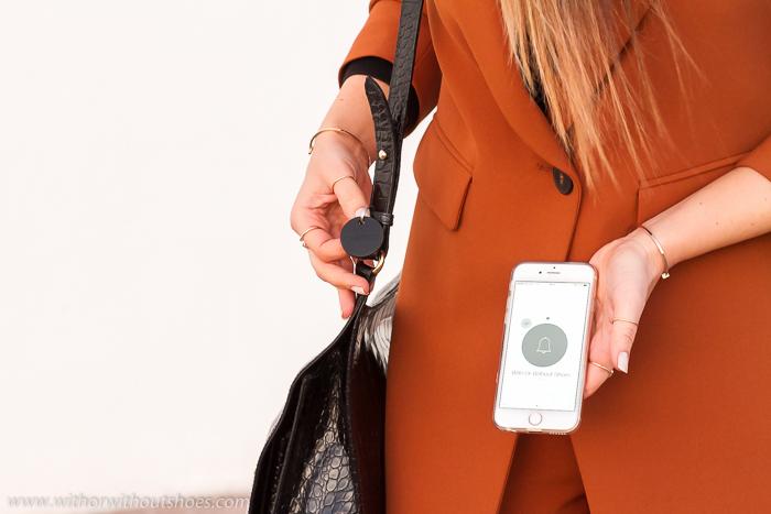 Chipolo conectado a un iphone 6