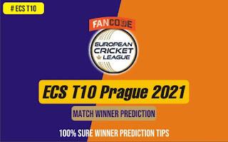 100% Sure Cricket Match Prediction tips - ECS T10 Prague 2021