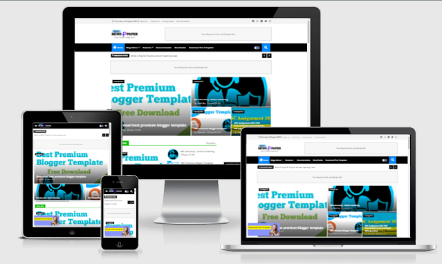 Pixy Newspaper 10 Free download for blogger