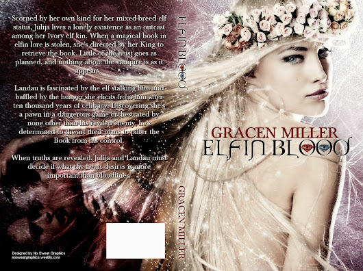 "Cover Reveal: Gracen Miller's ""Elfin Blood"""