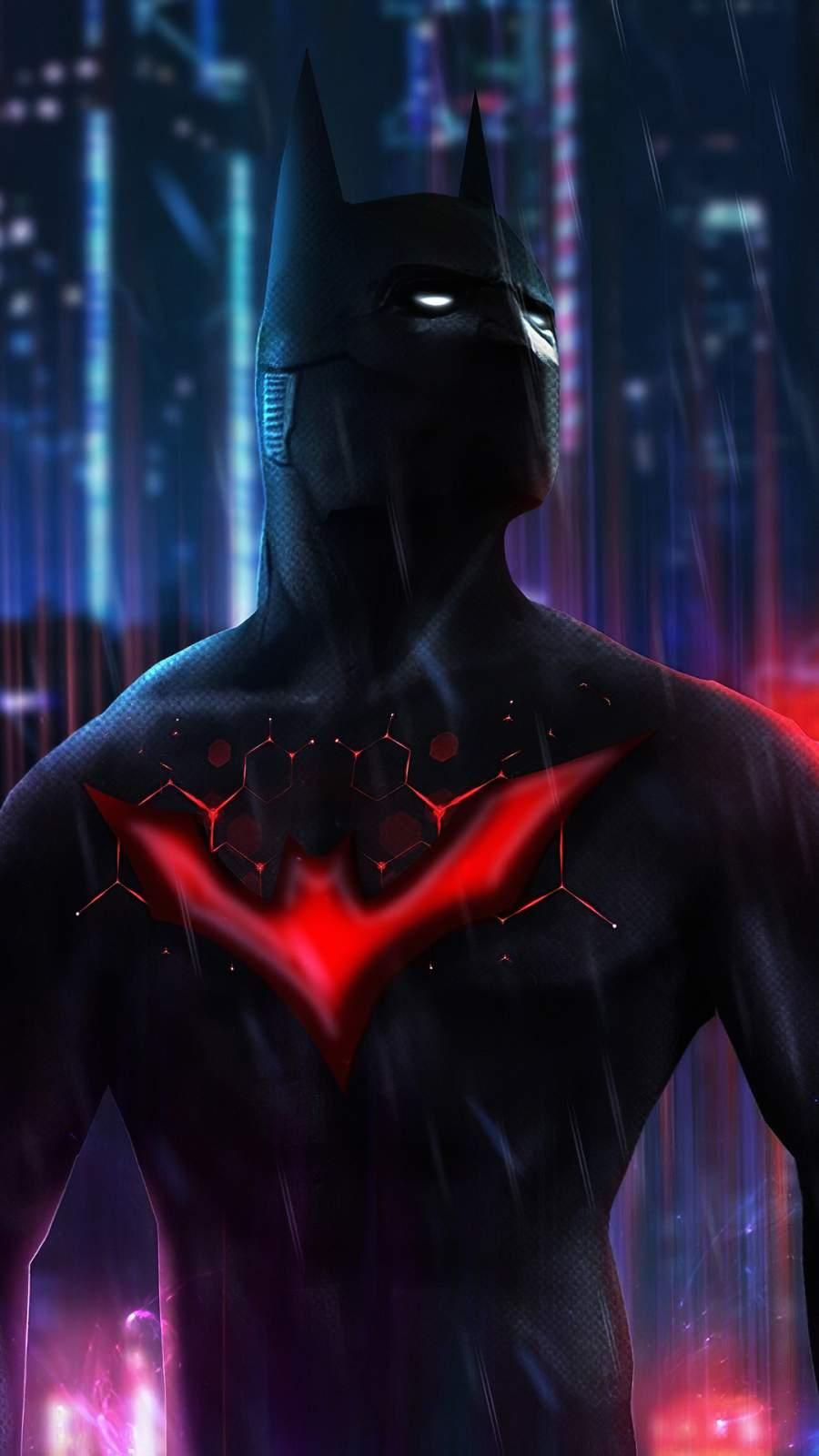 Batman Beyond Art mobile Wallpaper