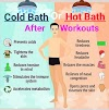 Cold Bath or Hot Bath which one is better after workouts.