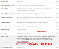 how to delete facebook page on computer