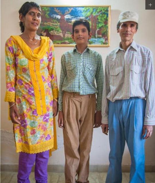 Bocah Tertinggi di Dunia, Usianya Baru 8 Tahun Tingginya 2 Meter