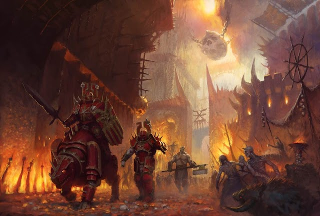 Blades of Khorne in 2nd Edition Age of Sigmar