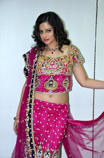 Anuhya Reddy in Lovely Ghagra Choli