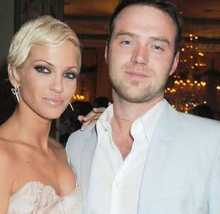 Sarah Harding with ex-boyfriend Tom Crane