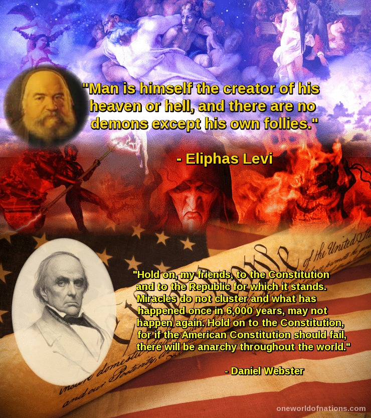 Levi, Eliphas, Webster, Daniel, Quotes